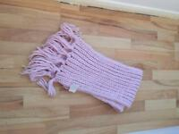 Baby Pink Scarf NEW