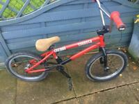 "Subrosa Bmx Bike 18"" wheels"