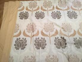Handmade Curtains 79 inch by 87 inch