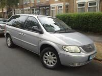 chrysler voyager 2.5cc diesel 7 seater 2001 51 plate July mot 2017 145K £696 may px