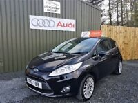 2011 FORD FIESTA 1.4 TDCI 70 TITANIUM, LOW MILEAGE, TWO KEYS, FULL SERVICE HISTORY, TWO LADY OWNERS