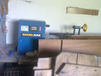 Aldi woodturning lathe and bowl blanks if required