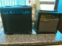To pratice amps vintage yamaha and zenox
