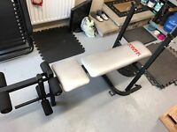 York Fitness Easy Folding Weights Bench (Pickup Only)