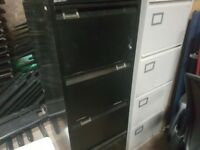 2 filing cabinets suitable for garage use