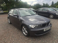 2007 / 57 BMW 1 SERIES 2.0 118i SE 5dr - Grey - FULLY LOADED with M Sport Features