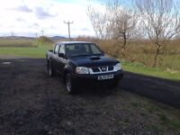 NISSAN NAVARA 4X4 TRUCK D/CAB D22 YD25 . ONE OWNER LOW MILES