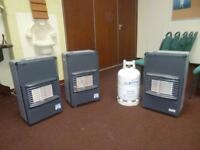 Portable Gas Heaters with cylinders