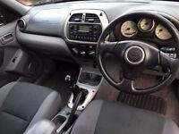 NOW REDUCED! 2003 Toyota Rav4 d4d DIESEL Gx 4x4, alloys, mot until June, history, LOVELY