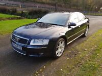 Audi A8 4.2 V8 Quattro Automatic Full service history 12 months mot lovely car