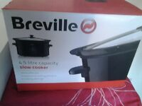 Breville 8in1 slow cooker brand new