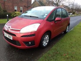 Citroen C4 Picasso 1.6 diesel 65000 MLS hard to get with low genuine miles Citroen service no faults