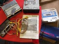 Panasonic CD player jenson amp pioneer radio