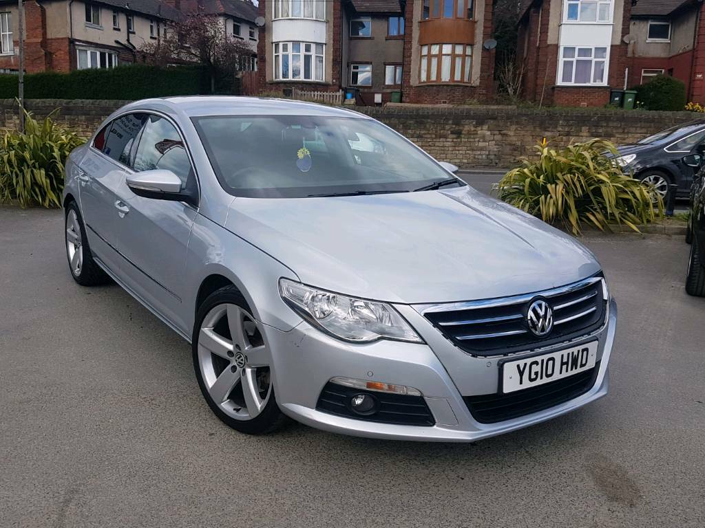 2010 vw passat cc 2 0 gt tdi manual 4 door silver top spec hpi clear in dewsbury west. Black Bedroom Furniture Sets. Home Design Ideas