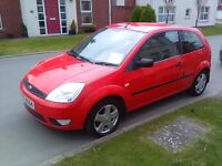 2005 FORD FIESTA 1.4 ZETEC, ONLY 80K, MOT JULY 2017, JUST SERVICED FOR SALE! (not vauxhall, vw)