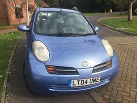 Nissan Micra 04 - great first car!