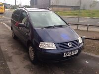 Volkswagen Sharan 1.9 DIESEL MPV - Cheap Insurance + Tax (NOT BMW VW FORD GALAXY MERC AUDI VAUXHALL)