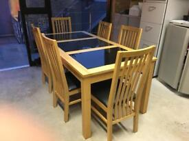 Dining Table and Chairs for 6