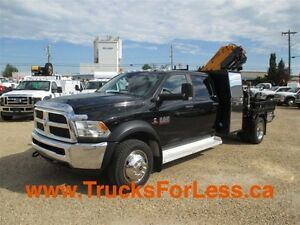 2014 dodge RAM 5500 SLT 4X4, PICKER TRUCK!!!