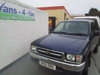 Toyota hilux crewcab only home from the uk no rust of any kind never farm NO VAT derry belfast