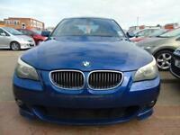 BMW 5 SERIES 2.5 525D M SPORT AUTOMATIC BEAUTIFUL CONDITION DRIVES A1 (blue) 2005