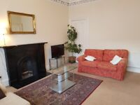 Bright and spacious flat near Haymarket ( 2 Double bedrooms)