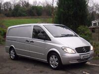 2009 (59) MERCEDES VITO 2.2 CDI 150 AUTO LWB SPORT **ONLY 78,000 MILES - FSH - NO VAT - NO VAT**