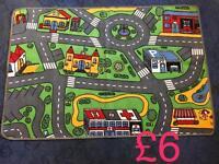 Child's car mat rug