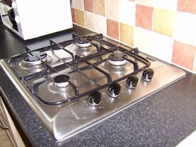 Hotpoint Gas Hob,4 burners can be seen working,very good condition