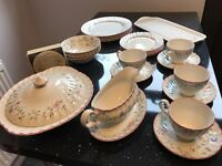 20 piece dinner service, Lidded serving bowl, Sandwich tray & Coasters