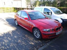 Bmw msport 3 series needs a wee bit tlc to go back on road)
