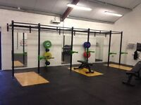 REAL STEEL SPORTS 3 BAY WALL MOUNTED RIG + ATTACHMENTS