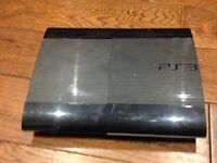 PS 3 Console 12gb + 10 Games