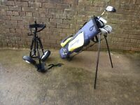 Junior Golf Clubs - complete with bag and trolley