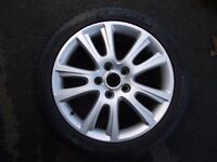 SKODA VRS AUDI SEAT VW SPARE ALLOY , NEW MITCHELIN TYRE