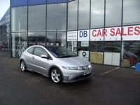 2008 57 HONDA CIVIC 1.8 I-VTEC TYPE-S GT 3D 139 BHP **** GUARANTEED FINANCE ****