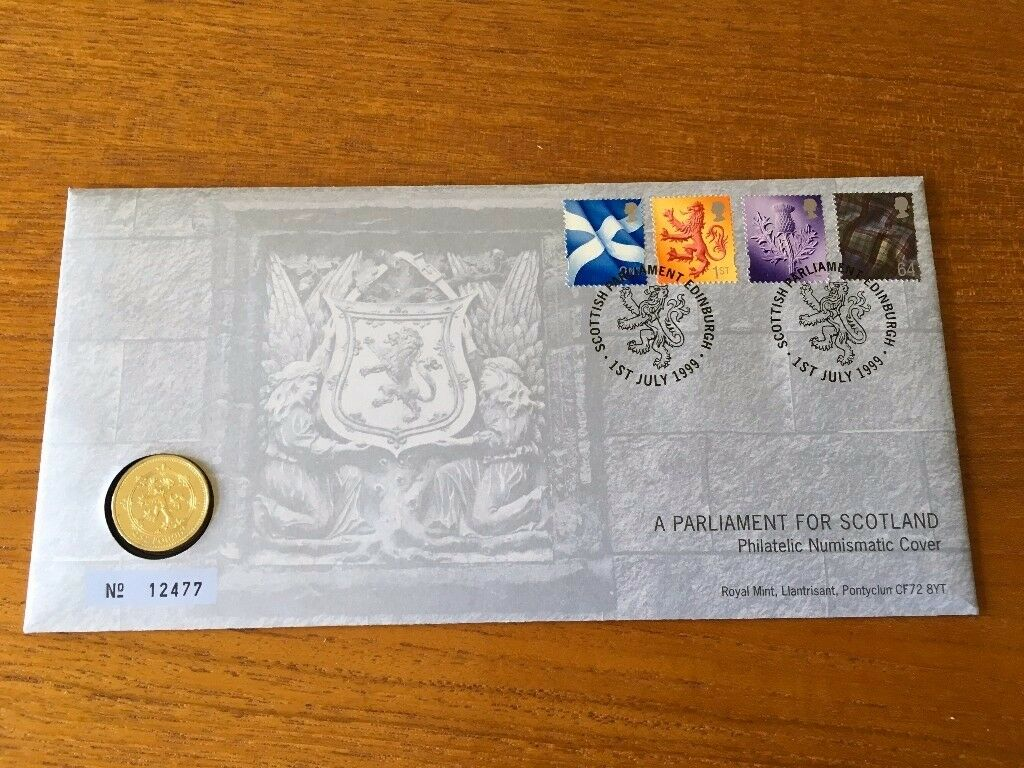 Stamps – Scottish Parliament Commemorative stamps 1999