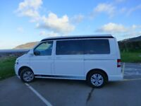 VW T5 2015 pop top camper van, 15,500 miles, with additional features