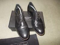 Leather Samuel Windsor shoes size 14 very good condition
