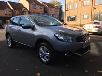NISSAN QASHQAI 2012 DIESEL.LOW MILEAGE 44000.1 OWNER.FULL SERVICE HISTORY.CALL ME 07887611676