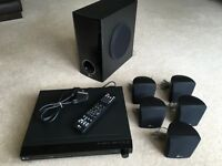 LG DVD player and 5.1 surround sound cinema system