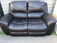 Real leather sofa LAZBOY VERY COMFY
