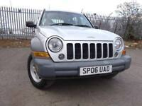 06 JEEP CHEROKEE CRD SPORT 2.8 DIESEL 4X4,MOT FEB 019,2 OWNERS,2 KEY,6 SERVICE STAMPS,LOVELY EXAMPLE