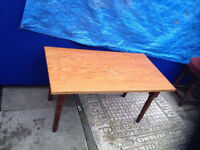 rectangle real wood coffee table