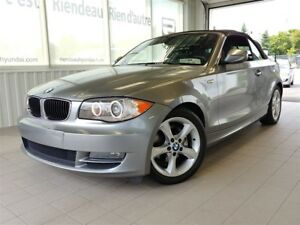 2011 BMW 128I i + DÉCAPOTABLE + A/C + CUIR +  BLUETOOTH