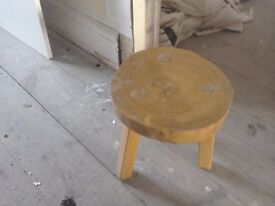 Lovely old milking stool