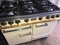 Falcon range cooker total gas cream colour
