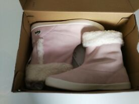 Lacoste Trenth pink/white boots