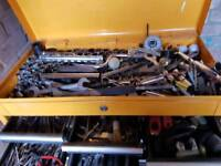 JCB ROLLCABINET AND TOOLS