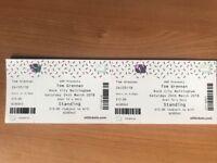 Tom Grennan Tickets x2 Nottingham 24th March